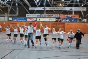 Damenmannschaft steigt in die 1. Verbandsliga auf