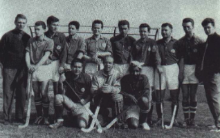Die Herrenmannschaft des HCE von 1962